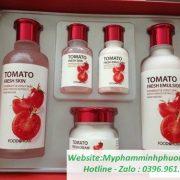 Bo-duong-trang-da-Ca-Chua-Foodaholic-Tomato-Fresh-Skin-Care-Set-han-quoc