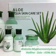 bo-duong-lo-hoi-Aloe-Aqua Skin-Care-Set-han-quoc