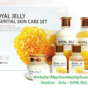 bo-my-pham-dương-da-mat-ong-Royal-Delly-Essential-Skin-Care-Set-han-quoc