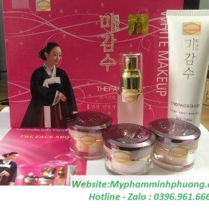 bo-my-pham-tri-nam-tan-nhang-the-face-shop-hong-5in1-han-quoc