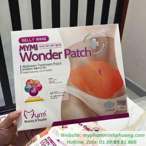 mieng-ran-tan-mo-bung-Wonder Patch_result