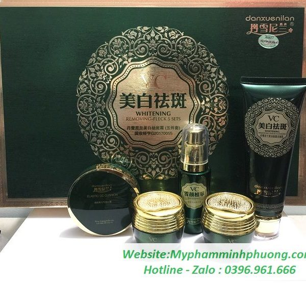 bo-my-pham-tri-nam-tan-nhang-Danxuenilan-VC-xanh-5in1_result