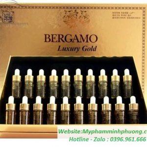 SET-SERUM-BERGAMO-DUONG-TRANG-DA-LUXURY-GOLD-COLLAGEN-CAVIAR-20-ONG-HAN-QUOC