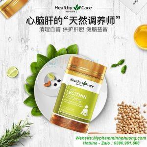 VIEN-UONG-MAM-DAU-LANH-UC-Super Lecithin-1200mg-100-vien-Healthy-Care-1