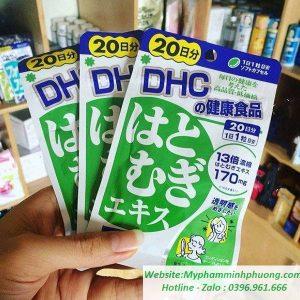 Vien-uong-trang-da-Hatomugi-DHC-nhat-ban-620x600