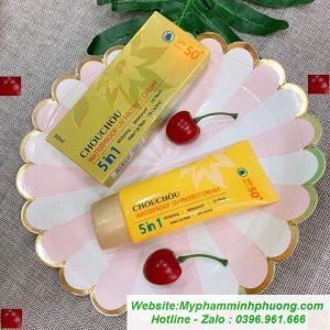Kem-chong-nang-chouchou-waterproof-uv-protect-cream-5in1-720x720
