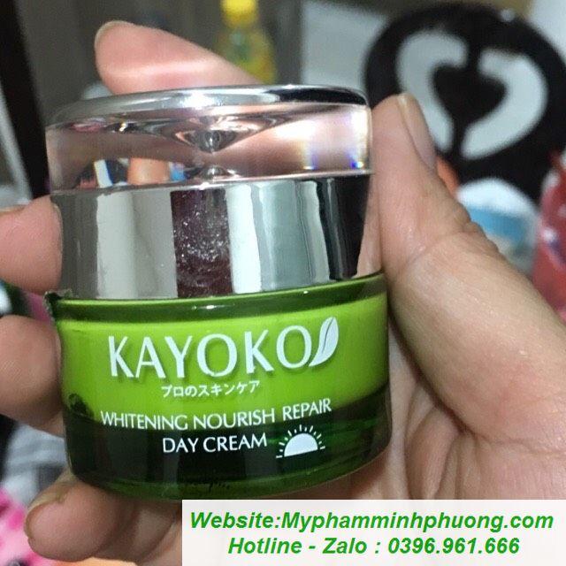 Kem-kayoko-xanh-5in1-tri-nam-duong-trang-da