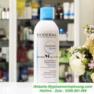 xit-khoang-cho-da-nhay-cam-bioderma-hydrabio-brume-300ml