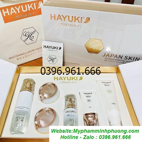 Bo-hayuki-6in1-tri-nam-tan-nhang-duong-trang-da-nhat-ban-8